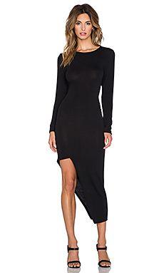 Backstage Jaclyn Dress in Black