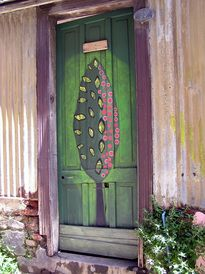 The colourful doors of Valparaiso, Chile