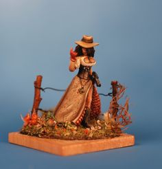 Darling Clementine, conversion from Reaper Miniatures Townsfolk: Strumpet.