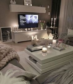 53 affordable apartment living room design ideas on a budget 31 - 16 room decor Apartment design ideas Living Room Decor Cozy, Living Room Grey, Home Living Room, Apartment Living, Living Room Designs, Cozy Apartment, Living Room Goals, How To Decorate Living Room Walls, Table For Living Room