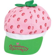 Child Strawberry Shortcake Hat Deluxe - Party City