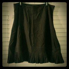 Brown skirt Beautiful brown flowy skirt. Price negotiable. George Skirts