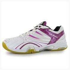 Carlton Airblade Lite Womens Ladies Badminton Playing Shoes Sports Training White Pink 9 Partner Link Ladies Court Shoes Sport Shoes Court Shoes