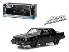 """Dom\'s 1987 Buick Grand National GNX \The Fast and the Furious\"""" Movie (2009) 1/43 Diecast Model Car by Greenlight"""""""