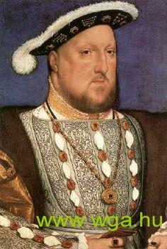 blackwork Henry VIII by Hans Holbein