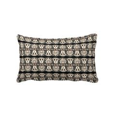 Vintage Grecian Geometric Patter Graphic Design Throw Pillow