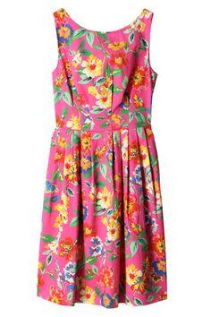 ケイト・スペード ニューヨークフラワープリントドレス