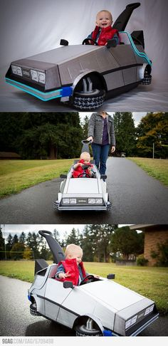Awesome Babys Marty McFly Costume
