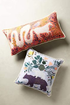 Fabled Land Pillow - anthropologie.com
