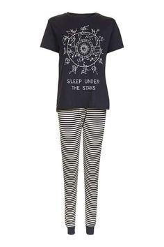 Astrology Print Pyjama Set - Topshop USA