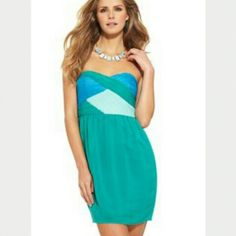 Minuet Colorblock dress Worn once in like new condition Minuet Dresses