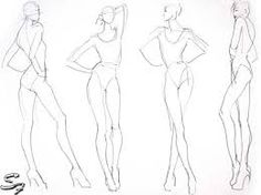 Image result for fashion illustration drawing noses fashion fashion model sketch and croquis for fashion templates pronofoot35fo Gallery