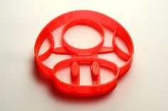 Mario Bros Mushroom Cookie Cutter Large - Red PLA - 3D Printer - 3D Printed via Etsy Super Mario Birthday, Mario Bros., Yoshi, Cookie Cutters, Stuffed Mushrooms, 3d, Etsy, Unique Jewelry, Handmade Gifts