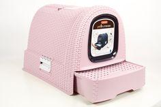 Curver Style Katzentoilette pink, anthrazit und mocca