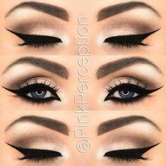 Makeup Tips, Beauty Makeup, Eye Makeup, Hair Makeup, Makeup Ideas, Makeup Stuff, Lip Contouring, Evening Makeup, Makeup Designs