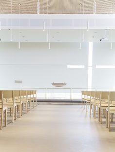 Arbeids- og flerbrukskirke, Bærum - Nyfelt og Strand Interiørarkitekter