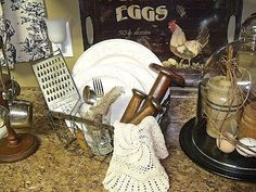 love country decor...especially roosters