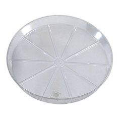 WOODSTREAM Clear Vinyl Planter Saucer 12 Sold in packs of 25 -- Want additional info? Click on the image.