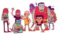 Really really cool! But is it really Professor X or is it Charlie Brown? Haha!