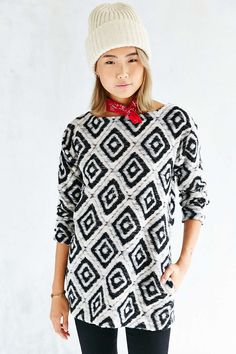 Ecote Lara Tunic Top - Urban Outfitters
