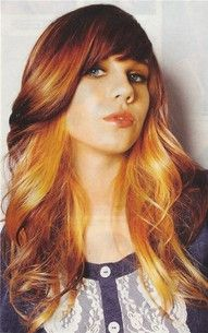 Long Hairstyles And Color Wwwoutrageousrainbows  Pinterest  Redheads Hair Coloring And