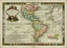 l'amérique meridionale et septentrionale - Pesquisa Google