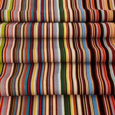 Paul Smith Scarves | Fine Wool Signature Stripe Scarf