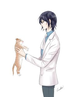 Noblesse: Rai with a cat by camellia029.deviantart.com on @DeviantArt