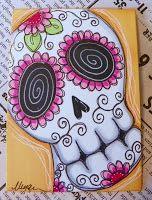 Dilly Beans Stamps: big eye art Dilly Beans, Digi Stamps, Big Eyes, Atc, Artsy Fartsy, Art Forms, Sugar Skulls, Eye Art, Zentangles