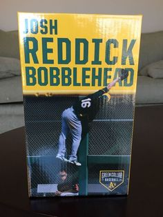 Oakland A's 2016 Josh Reddick SGA Bobblehead bobble Wall Catch Spinning 05/28 #Athletics #OaklandAthletics