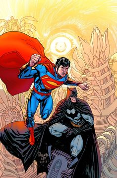 Batman/Superman 20 variant by Yanick Paquette