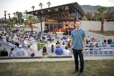 The Man Behind Rancho Mirage's New Amphitheater