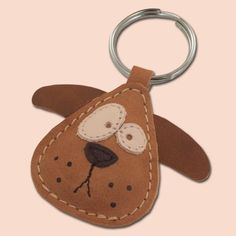 Items similar to Chowder The Cute Little Dog Leather Animal Keychain - FREE Ahipping Worldwide - Handmade Leather Dog Bag Charm on Etsy Leather Bookmark, Leather Keyring, Leather Journal, Leather Art, Leather Jewelry, Custom Leather, Vintage Leather, Crea Cuir, Owl Keychain