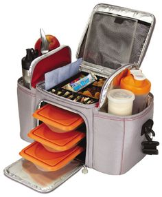 Six pack bag!!!  Perfect for fitness freaks like me... theres even room for your supplements!!! I want this!!