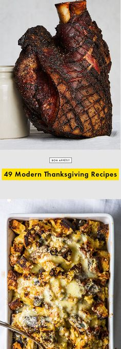 49 Modern Thanksgiving Recipes to Cure You of Any Holiday Fatigue // Bon Appetit