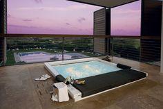 Hotel Parador de el Saler Valencia, Spain. Look at the suites with Teuco #Seaside #bathtub installed on the terrace.
