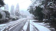 Neve em Gramado 27/08/2013