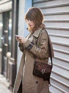jeanne damas #style #fashion Beautiful trench