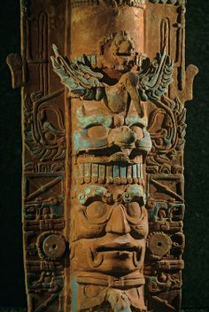 Ancient Cultures; Americas; Maya; Palenque; Mexico; Chiapas; Incensario; Temple of the Cross; Cross Group