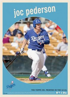 Dodgers Blue Heaven: Joc Pederson's MLB Call-Ups Topps Card Selling Out Fast