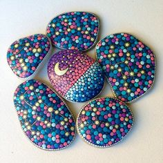 Rock painting dots