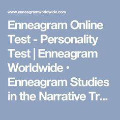 Enneagram Online Test - Personality Test | Enneagram Worldwide • Enneagram Studies in the Narrative Tradition - $10