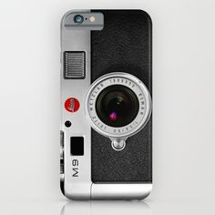 classic retro Black silver Leather vintage camera iPhone 4 4s 5 5c, ipod, ipad case iPhone & iPod Case
