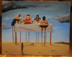 paweł widera /co 3,5 sekundy z głodu umiera człowiek/ original paintings art acrylic