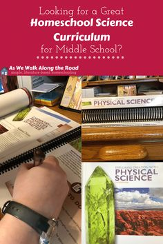 Are you looking for a great homeschool science curriculum for middle school? This Apologia Physical Science curriculum is a great choice! #homeschooling #homeschoolscience #ihsnet #AsWeWalk Homeschool Science Curriculum, Homeschool High School, Science Classroom, Homeschooling, Education Middle School, Middle School Writing, Middle School Science, Science Topics, Science Activities
