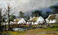 Artwork of Christiaan Nice exhibited at Robertson Art Gallery. Original art of more than 60 top South African Artists - Since Farmhouse Artwork, Fishermans Cottage, City Scapes, South African Artists, Landscape Artwork, Beach Scenes, Winter Scenes, Art Oil, Oil Paintings