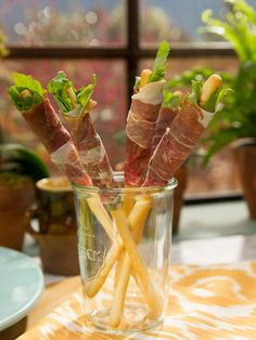 Prosciutto Salad on a Stick recipe from Marcela Valladolid via Food Network