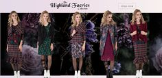 Winter 2017, Winter Collection, Faeries, Kimono Top, Feminine, Color, Tops, Women, Fashion