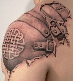 Tats like this where the skin looks like it's being removed are the best!