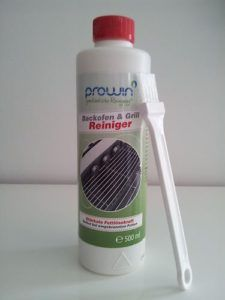Grill und Backofenreiniger proWIN 500 ml mit Pinsel
